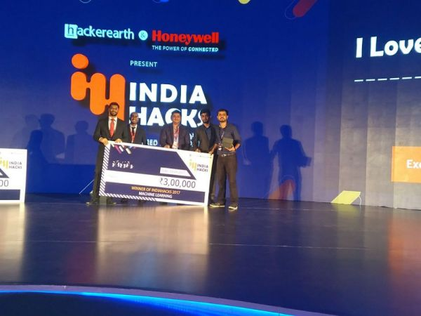 India Hacks 2017: Hackathon And Challenge Winners Announced