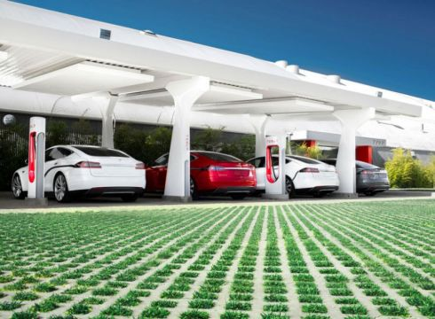 tesla-electric cars-bttery swapping