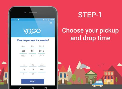 vogo-scooter rental-seed funding