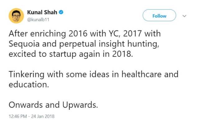 kunal shah-startup-entrepreneur