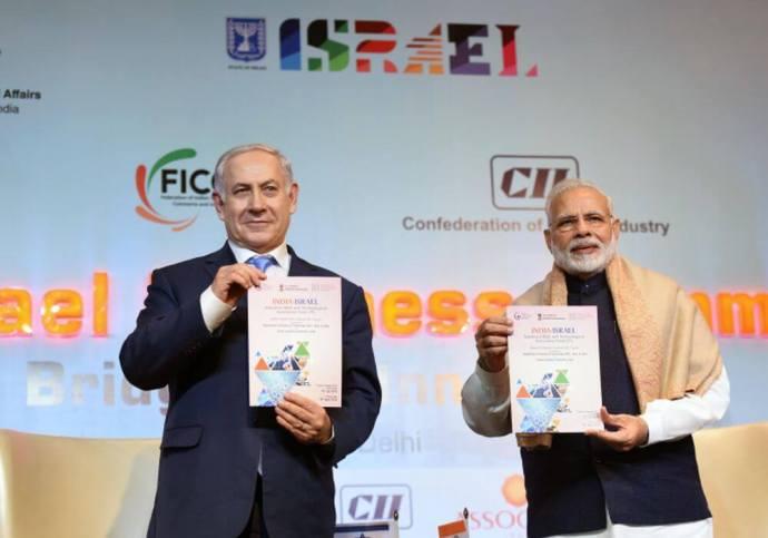india-israel-pm modi