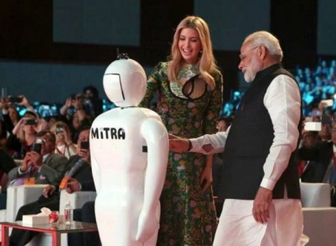 indian robot-robot-mitra