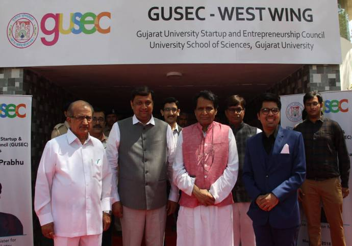 With The Aim Of Supporting 10K Student Innovators By 2021, Gujarat University Launches Its Startup And Innovation Policy