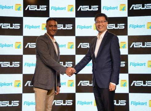 Flipkart Signs Exclusive Partnership With ASUS To Bring India Focussed Products