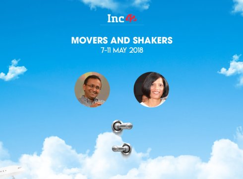 Movers And Shakers Of The Week [7-11 May 2018]