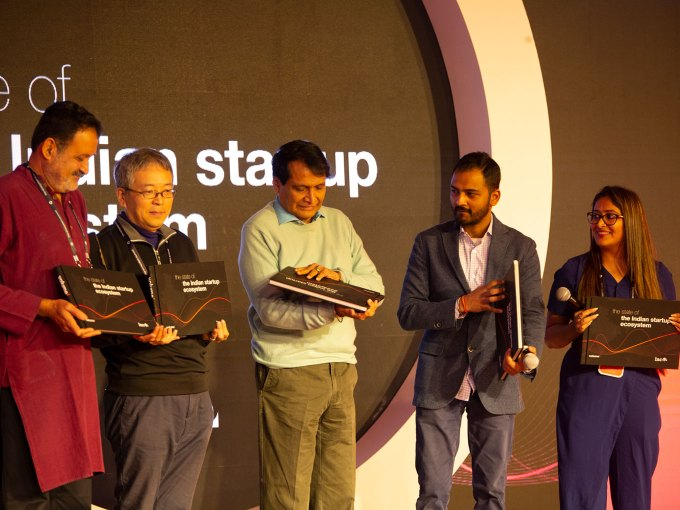 Minister Suresh Prabhu Releases Inc42's 'The State of Indian Startup Ecosystem 2018' Report