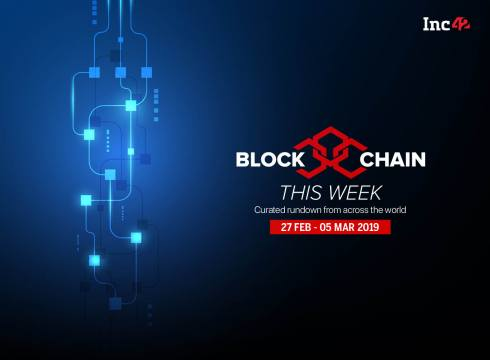 Blockchain This Week: SEBI's 'Regulatory Sandbox' Approach, And More