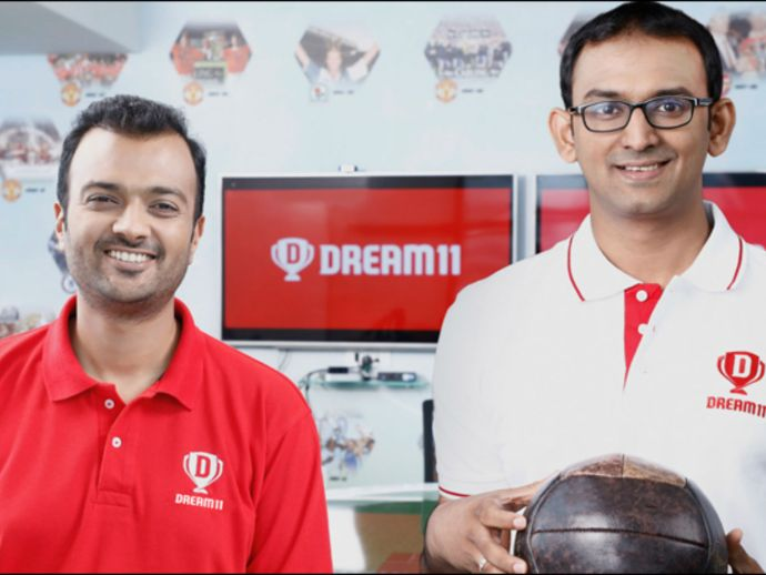 CEO Harsh Jain and COO Bhavith Sheth; Dream11.