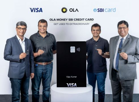 Ola Launches Credit Card In Partnership With SBI & Visa