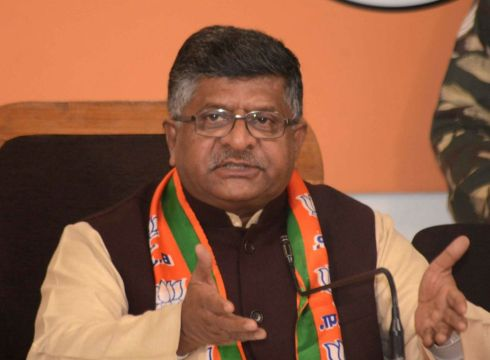 Will Focus On Taking Data Protection Bill To Parliament, Says Ravi Shankar Prasad
