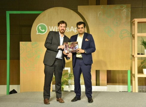 Amitabh Kant, NITI Aayog: WhatsApp Slow In Complying With Regulations
