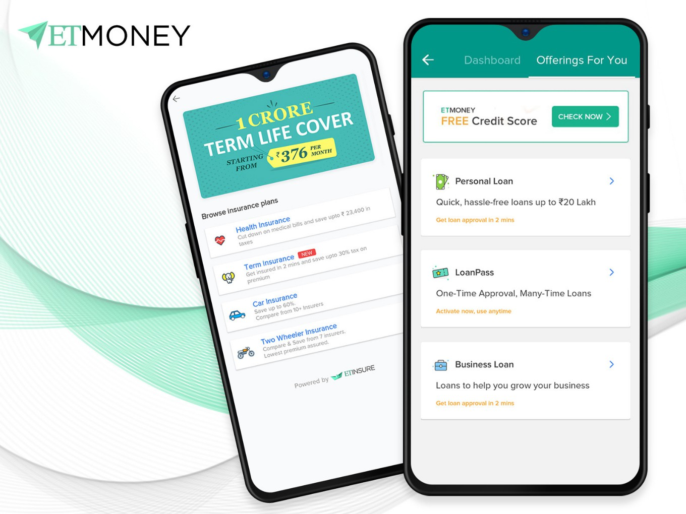 ETMONEY Hunts For Revenue With Insurance And Loan Services