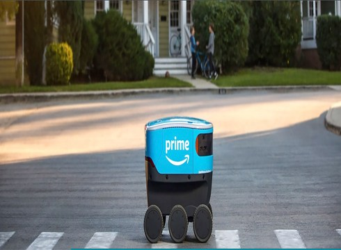 Amazon Shows Off Its 'Adora Bots' Amazon Scout High-Tech Delivery