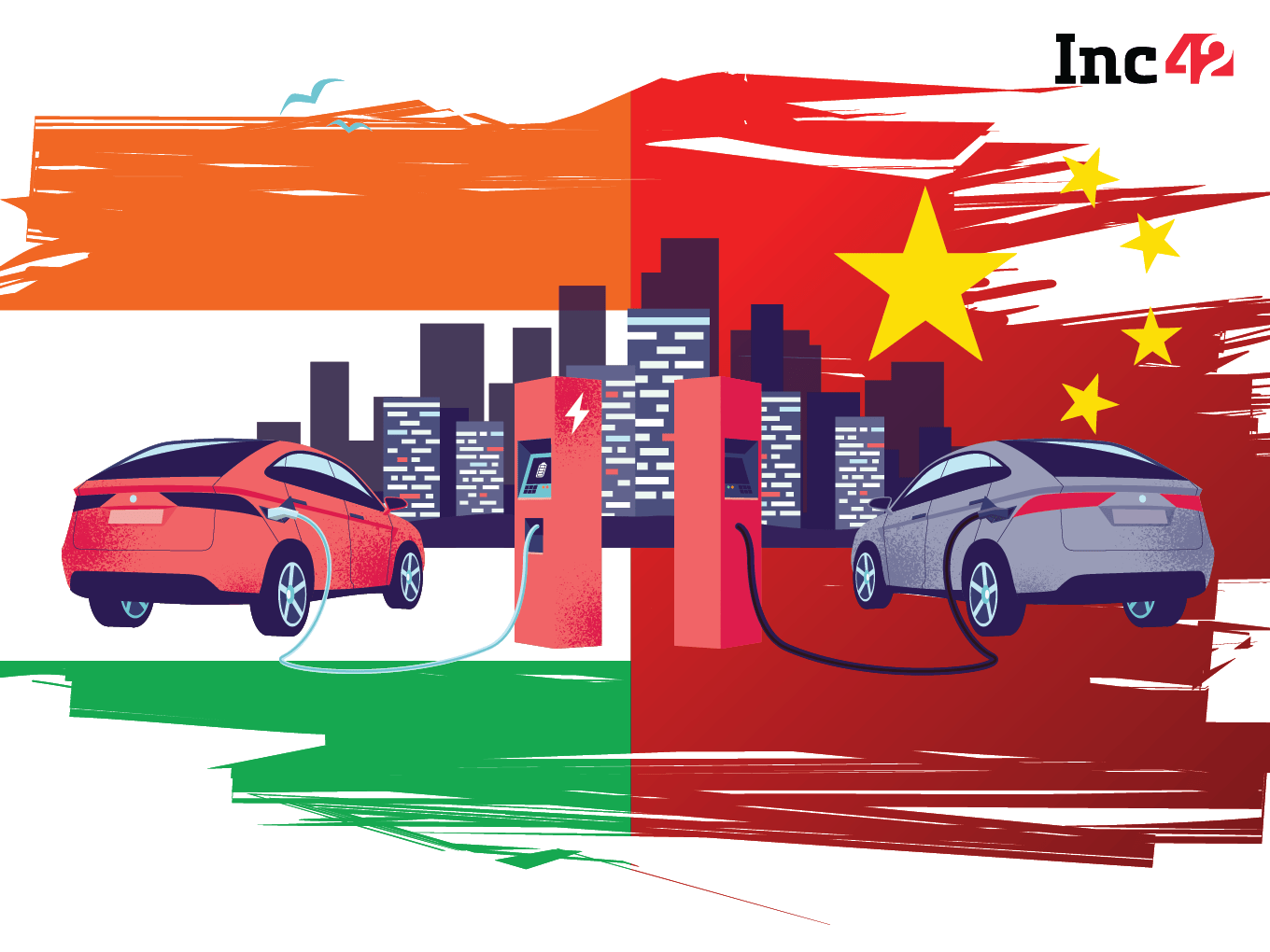India Vs China Turns Electric: The Story Of Two EV Markets