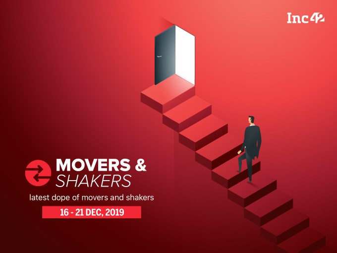 Important Movers And Shakers Of The Week [Dec16 - Dec 21]