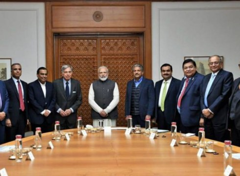 PM Modi Seeks Support Of Biz Tycoons Solve India's Economic Crisis