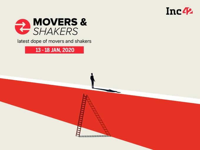 Important Movers and Shakers Of The Week [13 -18 Jan]