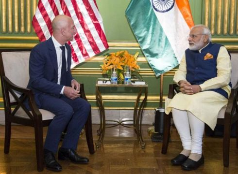 Modi-Bezos Meet May Be Cancelled