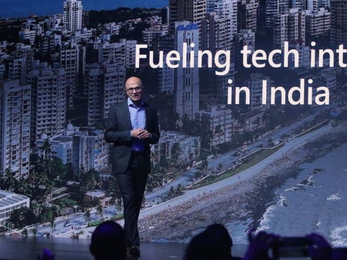 Four Highlights Of Satya Nadella's First Day Of India Visit