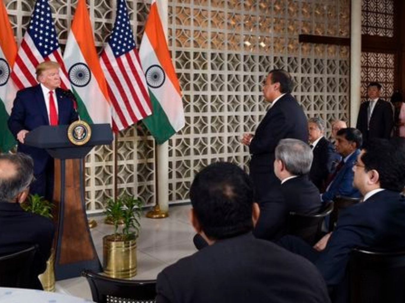 We Don't Use Chinese Products For Reliance Jio, Ambani Tells Trump