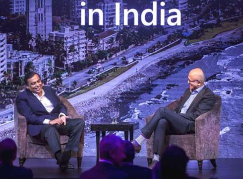 Microsoft Looks To Get Big Piece Of Reliance Jio With $2 Bn Investment