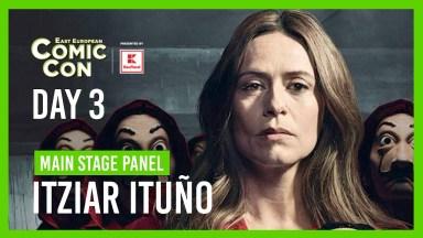 East European Comic Con Day 3 - Main Stage Panel - Itziar Ituño - Casa de Papel