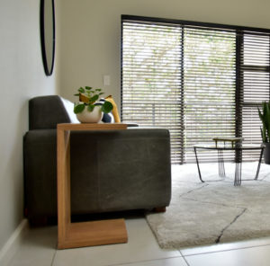 Multi-functional furniture is a great way to reduce clutter and give the appearance of space.