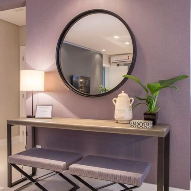 Decoração ambiente cor violeta