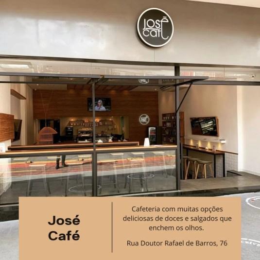 Café José, Paraíso, Café, donuts, pão de queijo