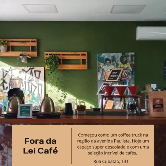 Fora da Lei Café, Paraíso, almoço