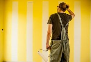 Incapacidad permanente total por artrosis a un pintor