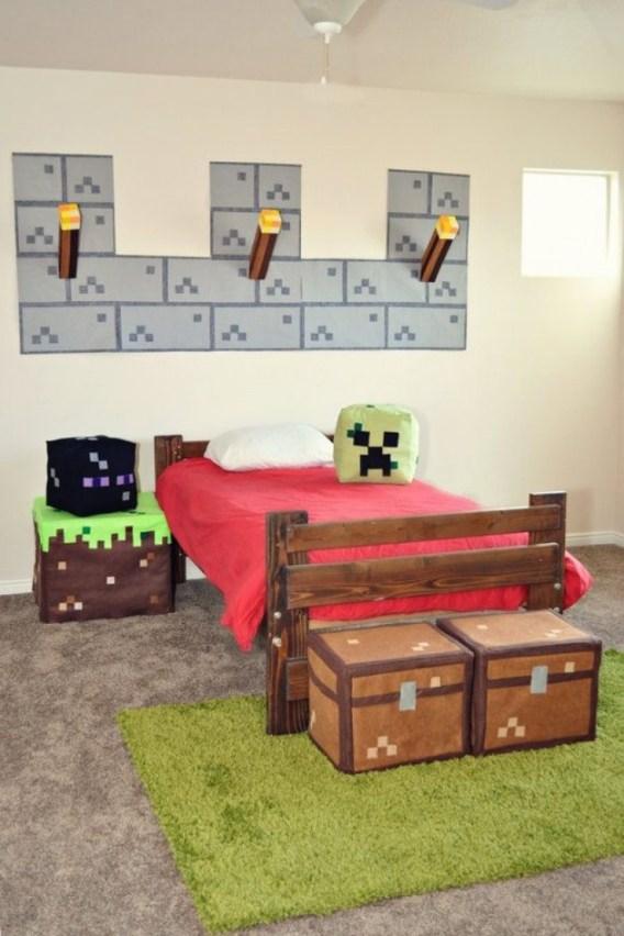 dormitor copii minecraft