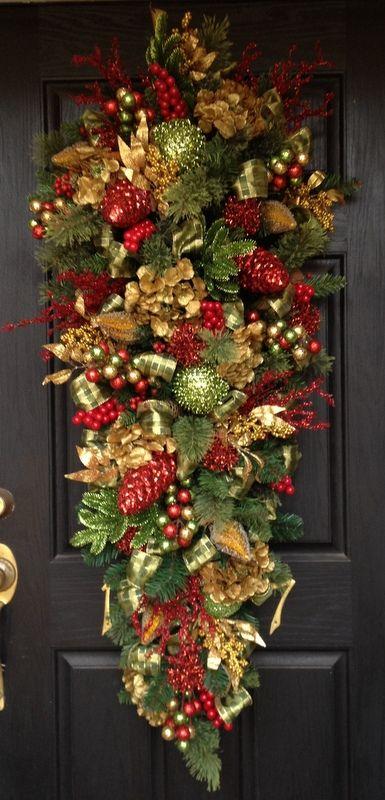 decoratiune-craciun-usa-intrare-ghirlanda