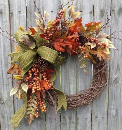 Decoratiuni de toamna cu frunze
