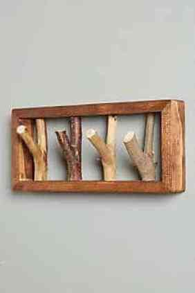 cuier lemn hol