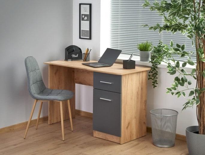 Birou calculator cu sertar si dulap