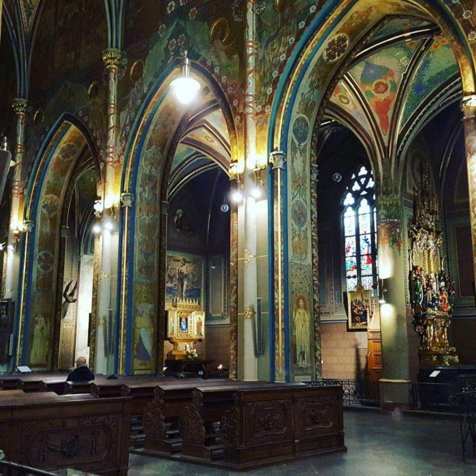 interieur Vysehrad kathedraal Praag