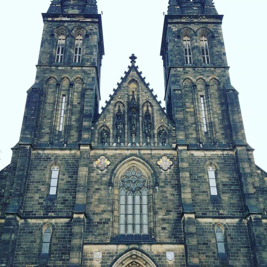 Vysehrad Cathedral Prague