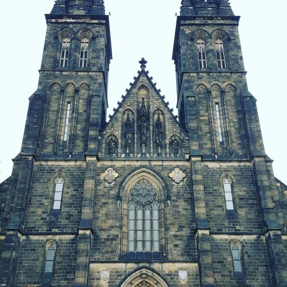 Vysehrad Cathedral Prague