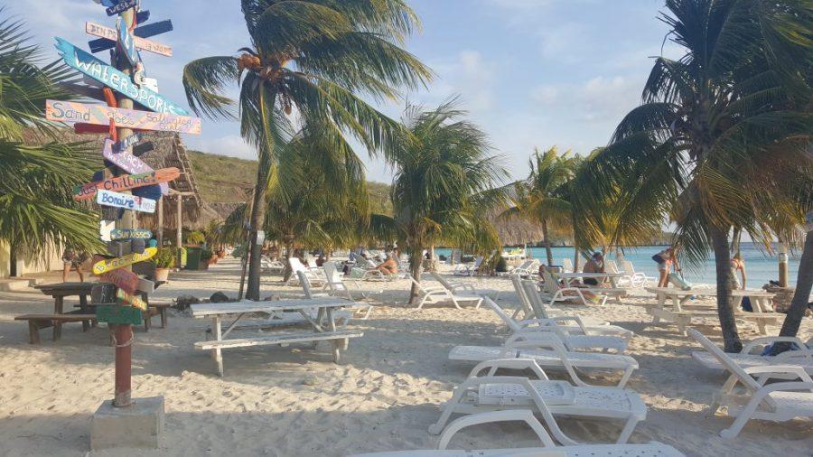 beach at cas abou curacao