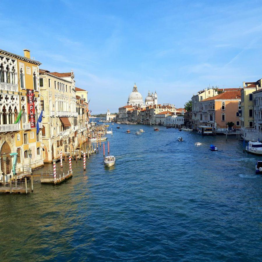 view from Academia Bridge Venice