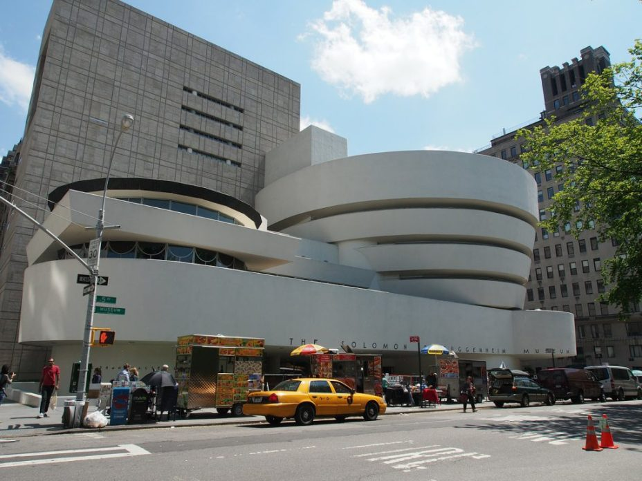 exterior Guggenheim Museum New York City