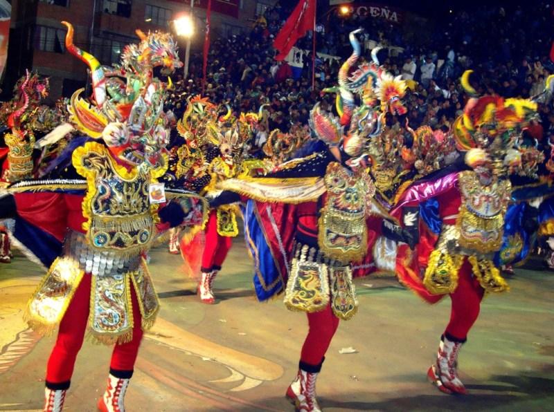 The Fiesta de la Candelaria is one of the largest Peruvian festivals.
