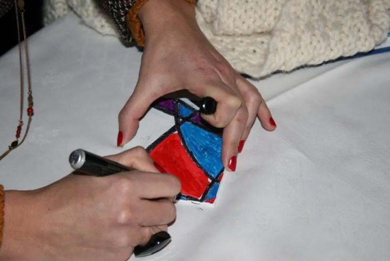 La mini fresque de cocktails
