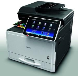 Ricoh MPC306zsp Printer Copier Scanner - Inception price & brochure