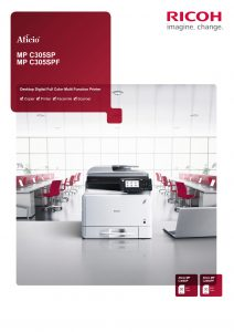 Ricoh MPC305SP and MPC305SPF Colour Brochure