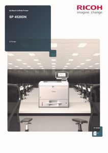 SP4520DN Brochure image