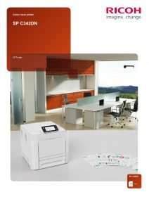 SPC342DN Brochure image