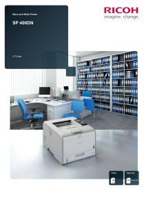 SP400DN Brochure Brochure image