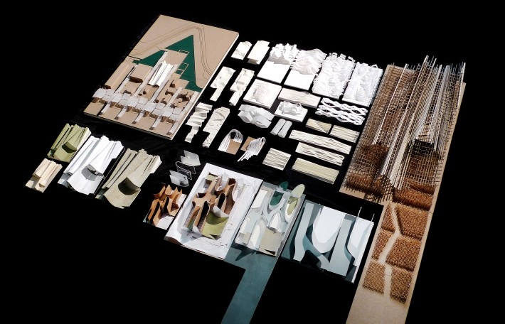 China House Pavilion architectural kit